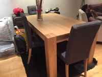 Beautiful dining table and 3 chairs