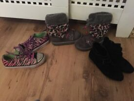 Girls shoes/boots