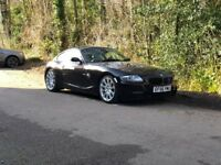 BMW Z4 Coupe in rare Ruby Black by BMW, high spec