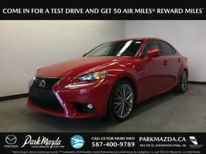2016 Lexus IS 300 AWD - Bluetooth, Backup Cam, Heated/Vented Fro