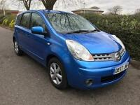 2007 NISSAN NOTE ACENTA MPV 1.4 5 DOOR HATCHBACK