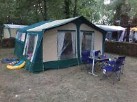 Trigano 415dl folding camper/trailer tent for sale