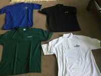 4 Items (New) includes 3 polo shirts and 1 short sleeved shirt Size XL All Brand New