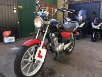 YBR 125 2012 low miles for sale £1300