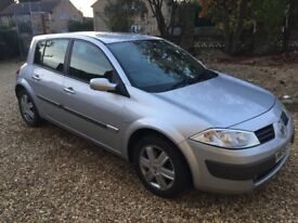Sliver Renault Megane 1.6, 2006 reg, Great Car