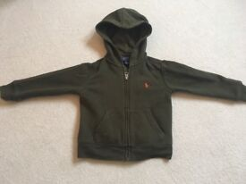 Ralph Lauren hoodie. Age 3 (2 available)