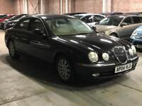 2004 (Mar 04) JAGUAR S-TYPE 2.5 V6 SE - Saloon 4 Door - AUTO - Petrol - BLACK *MOT/PX WELCOME*