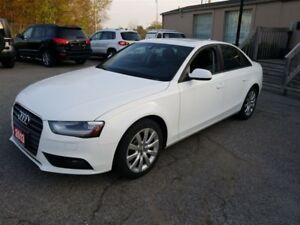 2013 Audi A4 2.0T | 1 OWNER|6 SPEED Manual Trans|AWD|Sunroof