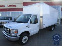 2014 Ford E-450 Super Duty DRW c/w 16' Transit Van Body & Ramp