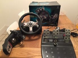 Logitech G25 Racing Wheel , Pedals and Shifter