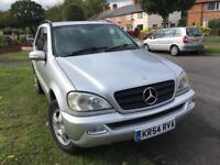 Mercedes ML270 cdi - 7 seater