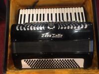 Zero sette b22 piano accordion