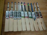 SS TON & SF English Willow Cricket Bats - Premium willow - 100% original