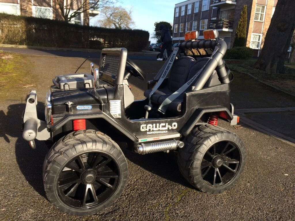 Peg Perego 24 Volt Gaucho Superpower Jeep Electric Ride