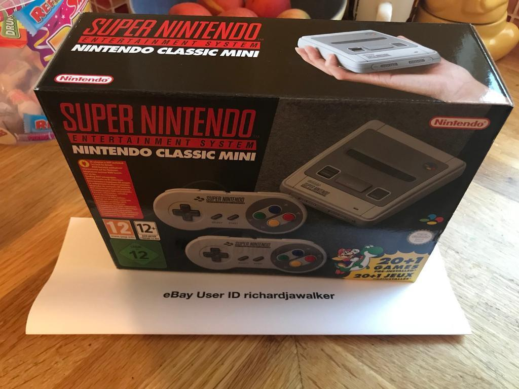 Brand New Unopened Nintendo SNES Mini