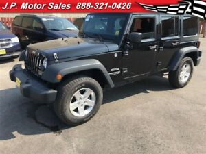2014 Jeep WRANGLER UNLIMITED Sport, Automatic,  A/C, 4x4, Only 1