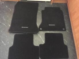 Mercedes a class car mats