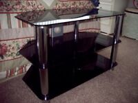 Smoke glass TV stand excellent condition