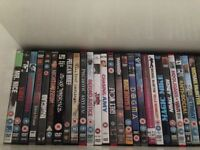 A wide range of DVDs all originals with covers
