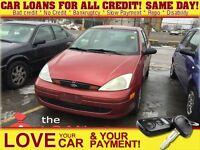 2001 Ford Focus SE * JUST IN * AS IS