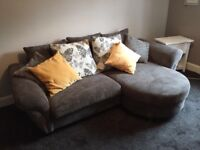 DFS sofa, as new, selling as moving house.