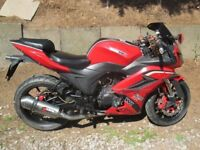 WK 125cc SP Sports Bike great bike