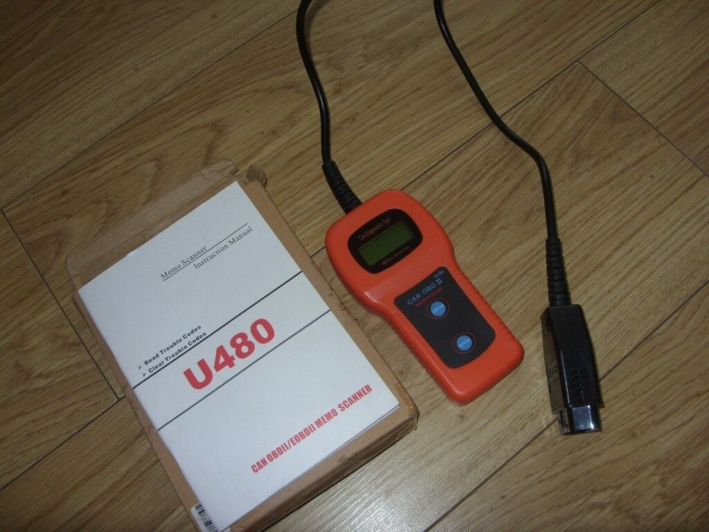 Memo scanner u480 manual