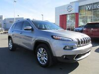 2014 Jeep Cherokee LIMITED 4X4 V6,NAVIGATION,PANORAMIC SUNROOF,L