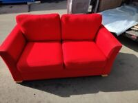 Red Sofa and Chair set