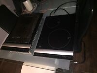 Aeg 2 ring induction hob and grill with instructions