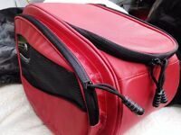 Motorcycle saddle bags - (picture only shows one) - AS NEW