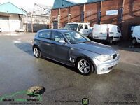 BMW 1-SERIES 120D SPORT E87 BLUE BREAKING SPARES PARTS SALVAGE