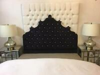 "Headboard to fit 4ft 6"" bed"