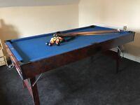 Pot black snooker table/pool table