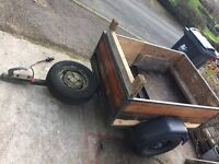 Car box trailer 4'x 3' - FREE for collection