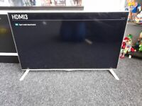"""40"""" LG ULTRA HD 4K TV WHITE FULLY WORKING ORDER £150 O.N.O CAN DELIVER"""