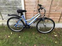 Ladies bike blue