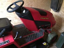 Countax ride on mower.