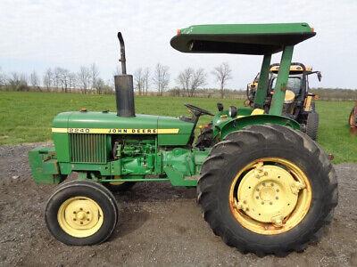 1978 John Deere 2240 Tractor 1 Owner 1 Remote 808 Hours