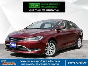 2015 Chrysler 200 Limited ***NAV, sunroof***