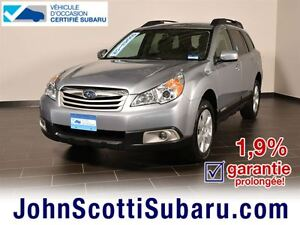 2012 Subaru Outback Convenience EXTENDED WARRANTY