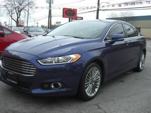 2014 Ford Fusion SE AWD * Nav / Sunroof / R.Cam / Leather*