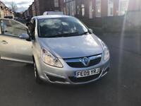Vauxhall CORSA petrol 5 door low millage 62000