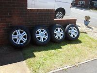 VW T5 Alloys - Genuine VW alloys with Continental Tyres