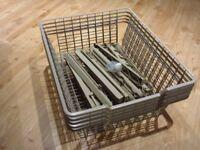 5 IKEA wardrobe wire baskets