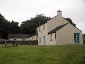 2 bedroom house to let in Cranagh, Plumbridge. Minimum 6 month contract. OFCH