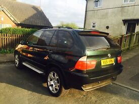 BMW X5 3.0d with full service history my px FOR A4 A6/520d