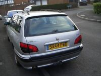 Peugeot 406 Glx Dt 1.9 turbo diesel estate,1998,silver,2 owners,owned since 2009,6 mths mot,45 mpg