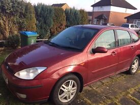 SPAIR OR REPLAIR 2003 FORD FOCUS 1.6 diesel £350 ONO