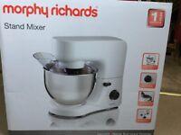 NEW/UNUSED Morphy Richards Stand Mixer 400020